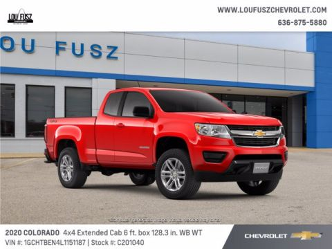 New 2020 Chevrolet Colorado 4WD Work Truck 4WD Extended Cab Pickup