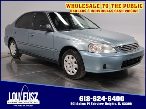 Pre-Owned 2000 Honda Civic VP FWD 4dr Car
