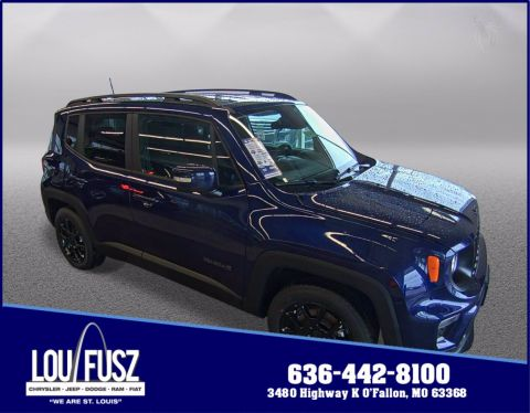 New 2020 Jeep Renegade Altitude FWD Sport Utility